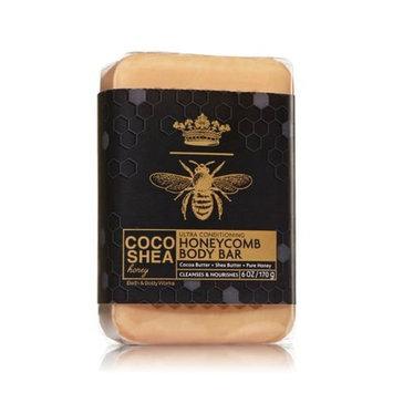 Bath & Body Works 6 Ounce CocoShea Honey Honeycomb Body Bar Soap