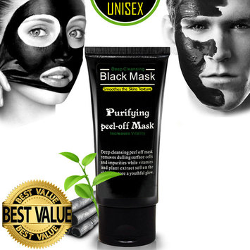 Ultimate Purifying Black Mask for Men & Women, Peel Off Blackhead Remover Activated Charcoal Carbon Face Mask for Acne, Oil Control, and Wrinkle Reduction (50ml)