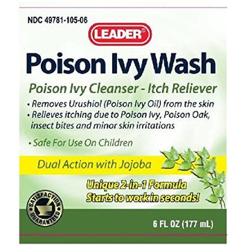 Leader Poison Ivy Wash, 6 oz (Pack of 5)
