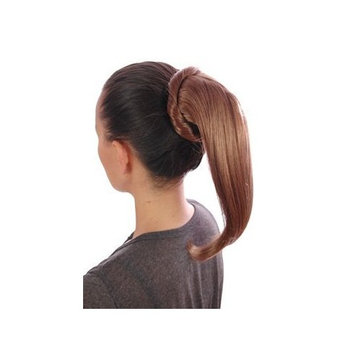 Light Brown Wrap Around Effect Drawstring Ponytail | Attachable Ponytail Hairpiece | Available in Six Shades