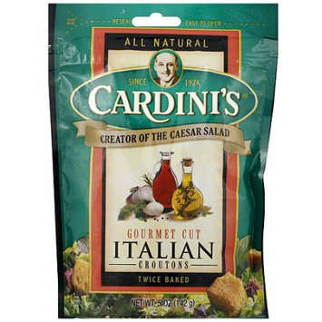 Cardini's Twice Baked Italian Croutons, 5 oz (Pack of 12)