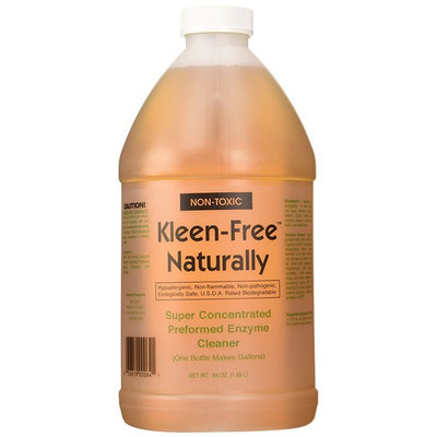 Kleen-Free Naturally Preformed Enzyme Cleaner (Original, 64-Ounce Concentrate)