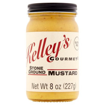 Kelleygou 8 oz. Mustard Stone Ground, Case Of 12