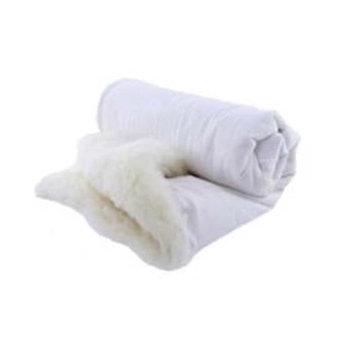 Snow Shepherd SW100-IVO 27 x 36 in. Baby Blanket Backed in Ivory Flannel