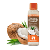 Gurunanda Fractionated Coconut Oil, 4 Oz