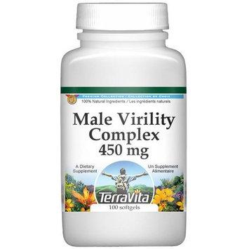 Male Virility Complex - Muira Puama, Schizandra, Siberian Ginseng, Ginkgo Biloba - 450 mg (100 capsules, ZIN: 511971)