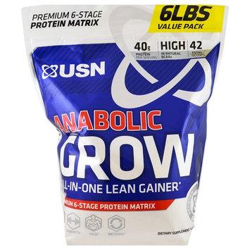 USN, Anabolic Grow, Cinnamon Bun, 6 lbs (2.73 kg) [Flavor : Cinnamon Bun]