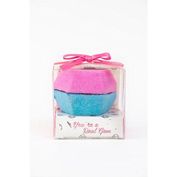 Feeling Smitten You're A Real Gem Bath Bomb,Gifts for Women, Mom, Wife, Daughter, Girlfriend, Birthday, Christmas, Anniversary