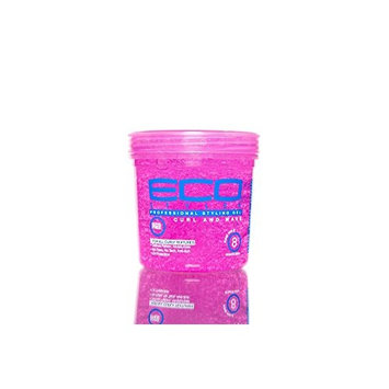 (PACK OF 2) ECO STYLE CURL & WAVE GEL FIRM HOLD 8OZ : Beauty