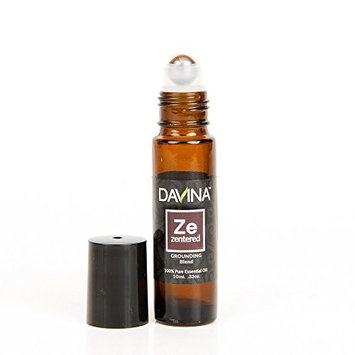 ZENtered Grounding Essential Oil Blend Roll-on 10ml Therapeutic Grade Ready to Go! …