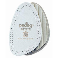 Pedag 147 Petite Leather Forefoot Insert with Latex Cushion, white, Women's 11/12