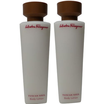 Salvatore Ferragamo Tuscan Soul Body Lotion lot of 2.5oz bottles Total 5oz (Pack of 2)
