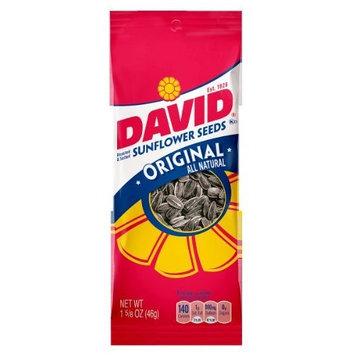 David Roasted and Salted Original Sunflower Seeds, 1.625 oz, 12 Pack