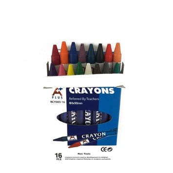 DollarDays 2274957 Crayons Pack of 180 - 16 Count