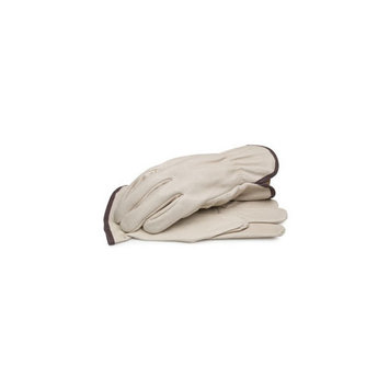 BLACKCANYON OUTFITTERS 82030 M GRAIN LEATHER DRIVER GLOVES WITH SHIRRED ELASTIC WRIST MEDIUM