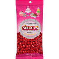 Sweetworks 226061 Red Sixlets Candy - Party Accessory