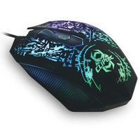 CLiPtec STORM 2400 Adjustable DPI USB Optical LED Light Wired Gaming Mouse Mice