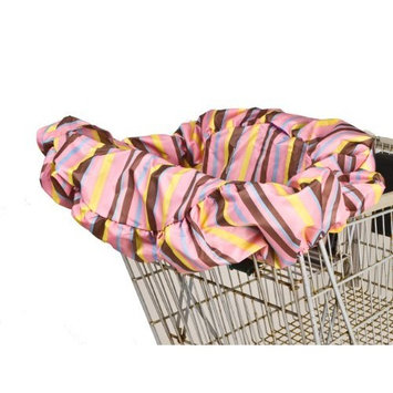 Wupzey Shopping Cart Cover, Pink Stripe