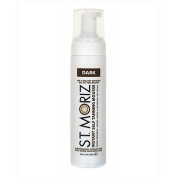 St Moriz Instant Self Tanning Mousse 200ml - Dark With St Moriz Tanning Mitt