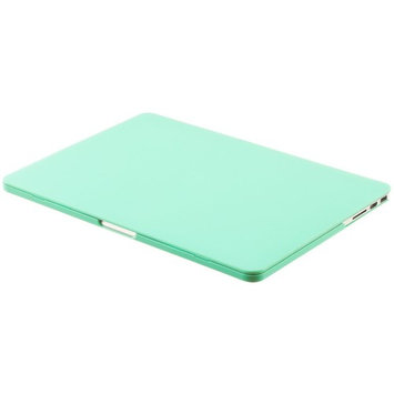 Kuzy MINT GREEN Rubberized Hard Case Cover for Apple MacBook Pro 15.4