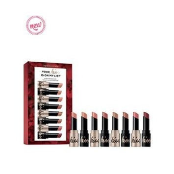 Your Kiss Is On My List 8 Pc Mini Gen Nude Radiant Lipstick Collection