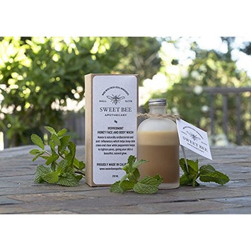 Sweet Bee Apothecary's Peppermint Honey Face and Body Wash [regular]