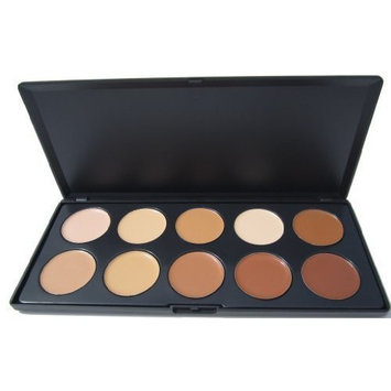 Ml Collection 10 Color Camouflage Concealer Palette, Cream Nature by ML Collection