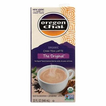 Oregon Chai Tea Latte Concentrate - The Original - Pack of 6 - 32 Fl Oz.