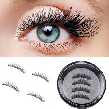 Dual Magnetic False Eyelashes, Dual Magnetic False Eyelashes, Dual Magnetic False Eyelashes for Natural Look, Charming Eyelashes