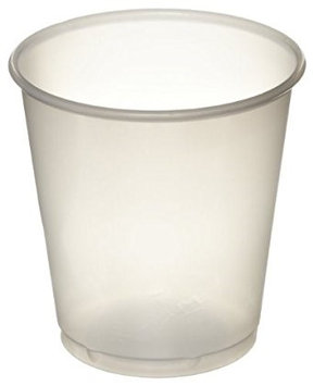 Solo Medicine Cup Translucent Plastic Disposable 3 oz, 2 Sleeves of 100
