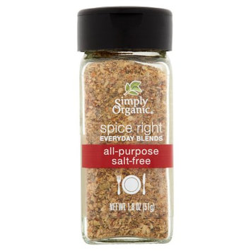 Frontier Co-op Simply Organic, Spice Right All Purpose, 1.8 Oz (Pack Of 6)