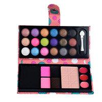 Eye shadow Sandistore 26Colors Eye Shadow Makeup Cosmetic Eyeshadow Blush Lip Gloss Powder