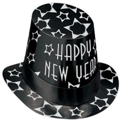 Beistle 88676BKS25 - Black Diamond Hi-Hat - Pack of 25