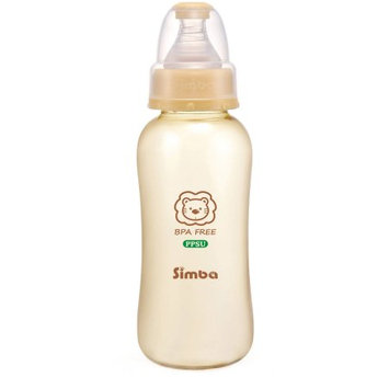 Mqbix Acoustics Technology Simba P6111 PPSU Standard Bottle, Beige, 11 oz