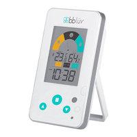 Bbluv Bbl V Igr 2-In-1 Digital Thermometer And Hygrometer For Baby S Room