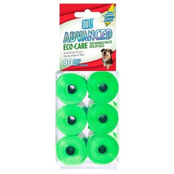 OUT! Advanced Corn Starch Pet Waste Disposal Bags - 90ct