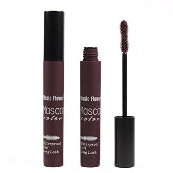 Malloom Waterproof Mascara Charm Lengthen Curling Eyelash Extension Makeup Co...