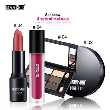 Prettymenny Cosmetic Set ,Blusher Lip Gloss Shimmer Eyeshadow Palette Makeup Kit Brush
