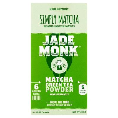 Jade Monk Matcha Green Tea Powder, .10 oz, 6 pack