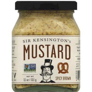 Sir Kensington's Spicy Brown Mustard, 11 oz, (Pack of 6)