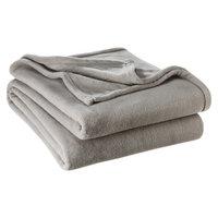 Microplush Super Soft Blanket - King (Grey)