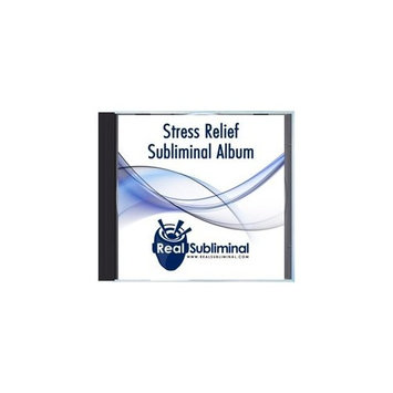Subliminal Health Series: Stress Relief Subliminal Audio CD