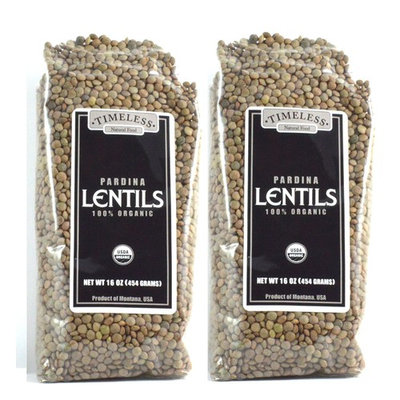 Organic Pardina Lentils 2 Pack 16 oz each [Pardina]