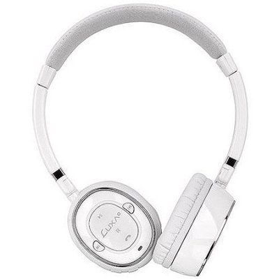 Thermaltake LUXA2 BT-X3 Bluetooth Stereo Headphones, White