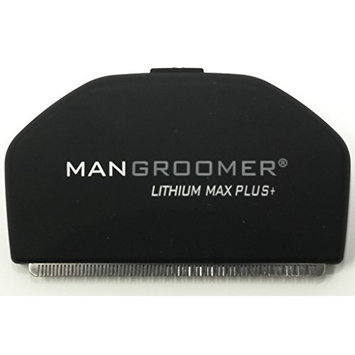 MANGROOMER - LITHIUM MAX PLUS+ Back Hair Shaver (New 5th Generation) - Replacement Blade with New 50% Wider Blade Design