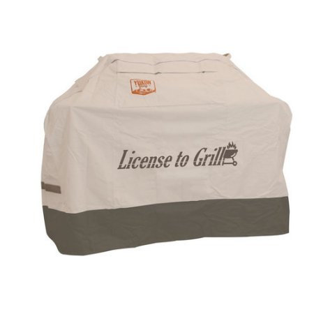 """Yukon Glory Extra Large Universal """"License to Grill"""" Cover"""