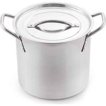 Mcsunley Stock Pot with Lid Size: 6 Qt.