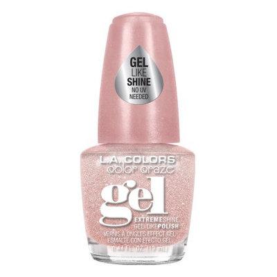 LA Colors Gel Shine Nail Polish, Pink Sugar, 0.44 Oz