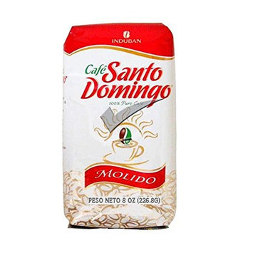 Santo Domingo 100% Pure Ground Coffee Bag 8 Oz.