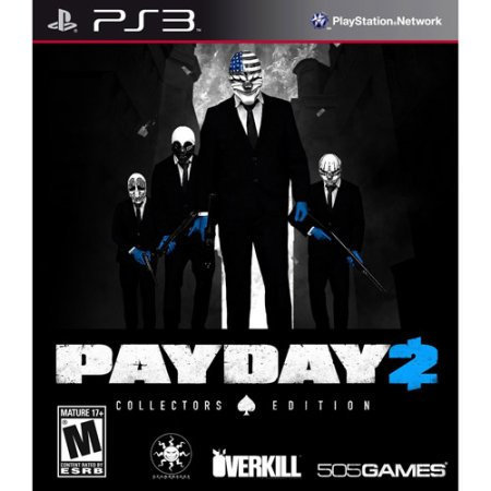 Payday 2 Collector's Edition PS3 Video Games 505 Games